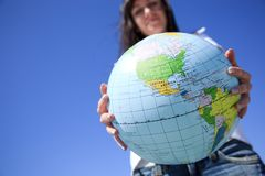 Global travel Royalty Free Stock Photography