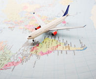 Global travel Stock Photo
