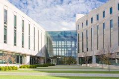 Global und International studiert Gebäude stockfotografie