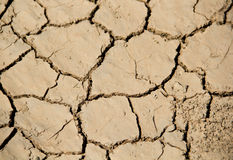 Global uppvärmningvattenkris Arkivfoton