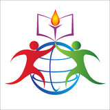 global utbildning royaltyfri illustrationer