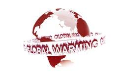 global värme stock illustrationer
