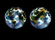 global värme för effekt Royaltyfria Foton