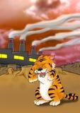 global värme för effekt stock illustrationer