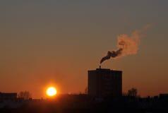 global värme för förorening Royaltyfri Fotografi
