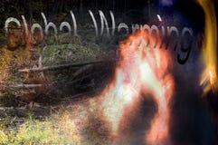 global värme för tecken Royaltyfri Foto