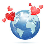 Global Valentines Day Stock Photo