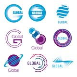 Global vector set Stock Photography