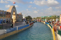 Global Village in Dubai, UAE royalty free stock photos