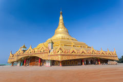 Global Vipassana Pagoda Royalty Free Stock Images
