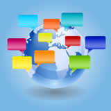 Global Voices Royalty Free Stock Image
