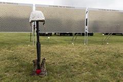 Global War on Terrorism Wall Memorial Stock Image