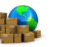 Global Warehouse Royalty Free Stock Images