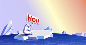 Global warming. An illustration of Global warming Royalty Free Illustration
