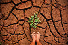 Global warming. Climate change and global warming Stock Images