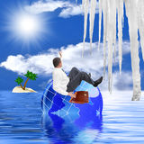 Global warming Royalty Free Stock Image