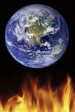 Global warming. A photo illustration depicting global warming Stock Images