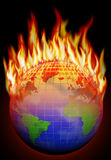 Global warming Stock Image