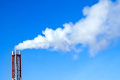 Global Warming. And air poisoning Stock Photo