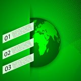 Global warming abstract background Stock Photos