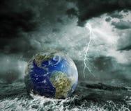 Global warming and apocalypse concept Stock Photos