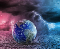 Global warming and apocalypse Stock Photography