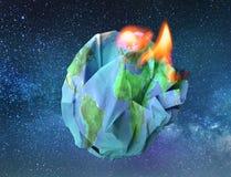 Global warming concept 3D illustration Stock Image