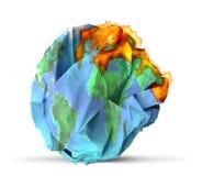 Global warming concept 3D illustration Stock Photos