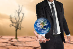 Global warming concept.Elements of this image are furnished by NASA Stock Photography