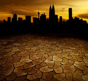 Global Warming Concept Image Royalty Free Stock Photos