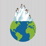 Global warming design. Environment icon.ecology concept Royalty Free Stock Image