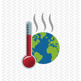 Global warming design. Environment icon.ecology concept Royalty Free Stock Photography