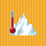Global warming design. Environment icon.ecology concept Royalty Free Stock Photo