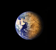 Global warming effect Stock Photography