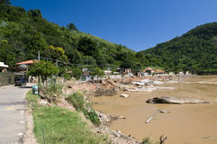 Global Warming: Flooding in Rio de Janeiro, Brazil Royalty Free Stock Photos