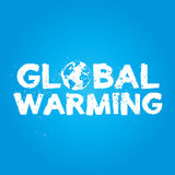 Global Warming Grunge Concept Stock Images