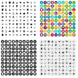 100 global warming icons set vector variant. 100 global warming icons set vector in 4 variant for any web design isolated on white Stock Photos