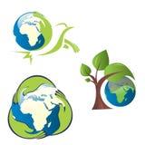 Global warming illustration Stock Photos