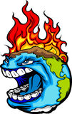Global Warming Planet Earth Illustration Stock Images