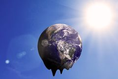 Global Warming and Pollution Concept Stock Photos