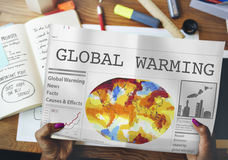 Global Warming Pollution Greenhouse Effect Concept Stock Photo