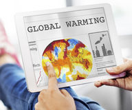 Global Warming Pollution Greenhouse Effect Concept Royalty Free Stock Photography