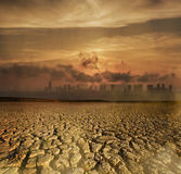 Global Warming and pollution theme Royalty Free Stock Photos