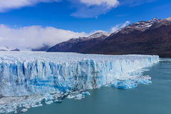 The global warming problem. The warming of the atmosphere affects large frozen water supplies and leads to disappearing glaciers and sea level rise Stock Photography