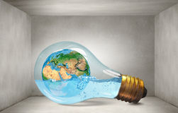 Global warming question Royalty Free Stock Image