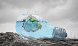 Global warming question Stock Images