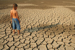 Global warming Water Crisis Royalty Free Stock Photography