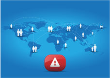 Global warning Stock Photos