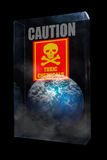 Global Warning caution Stock Image