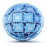 Global web vector illustration
